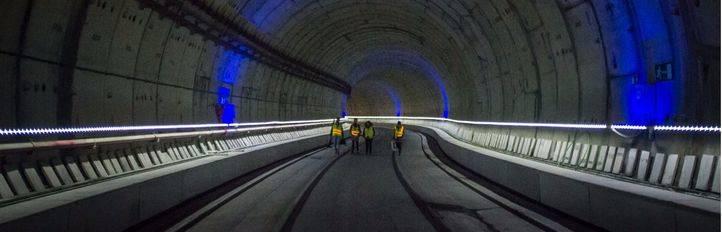 Un túnel como una casa