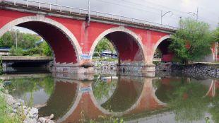 Río Manzanares, puente de los Franceses