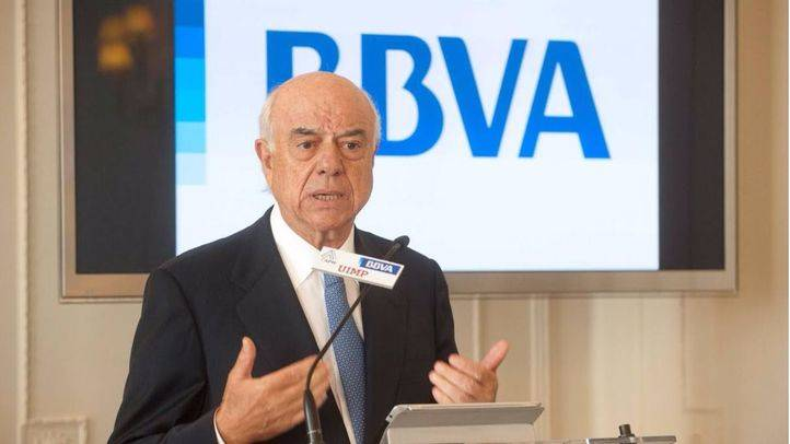 Francisco González, presidente de BBVA (Archivo)