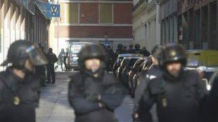 Desalojo del Centro Social Okupado 'La Morada'