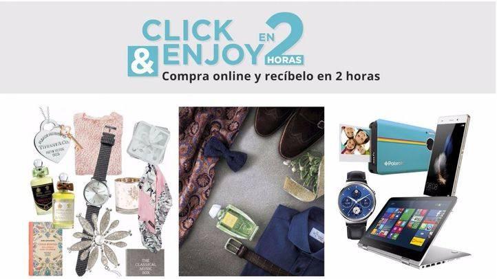 El Corte Inglés amplía a la zona sur de Madrid su servicio de compra online con entrega en dos horas