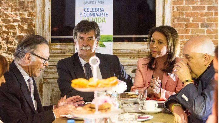 Javier Urra ha presentado su libro 'Celebra y comparte la vida' que es una conversación con la periodista Merche Carneiro.
