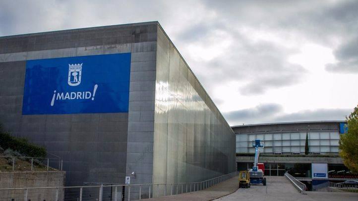 Pabellón satélite del Madrid Arena.