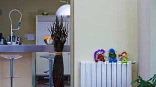Sistema de calefacción en una vivienda