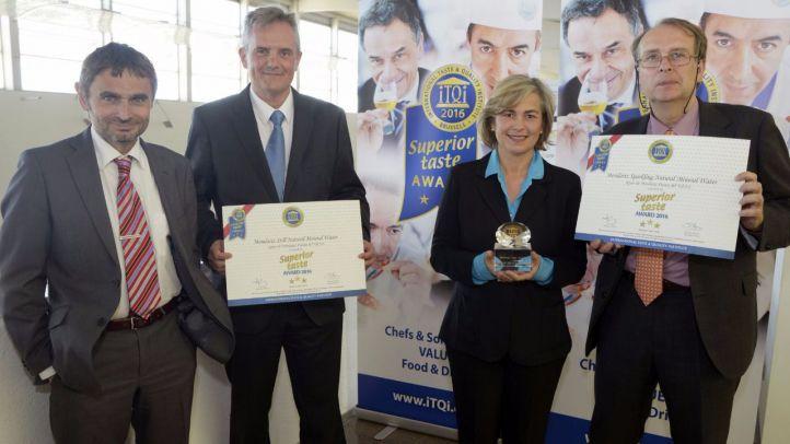 """Mondariz revalida su título de """"Mejor Agua del Mundo"""" consiguiendo el segundo Diamond Taste Award"""