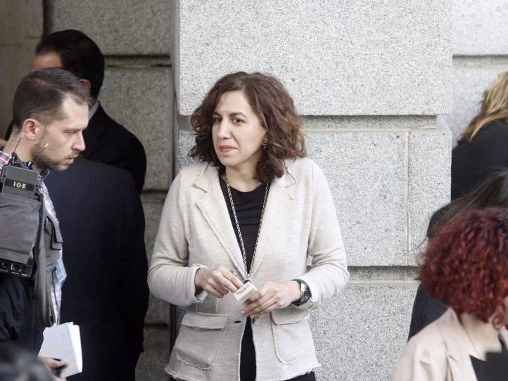 Irene Lozano en el Pleno constitutivo del Congreso de los Diputados. (Archivo)