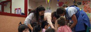 Niños jugando en una escuela infantil (archivo)