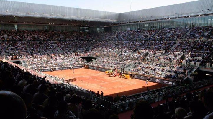 Deportes libro turismo. La Caja Mágica es sede del Mutua Madrid Open de Tenis. (Archivo)