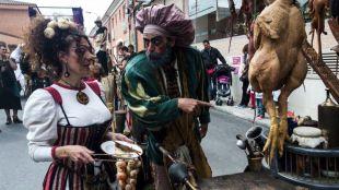 Feria medieval de El Álamo.