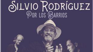 Concierto gratuito de Silvio Rodríguez en Vallecas. Silvio en los barrios.