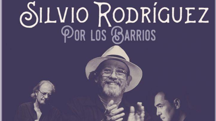 Silvio Rodríguez, Luis Eduardo Aute e Ismael Serrano actuarán gratis en Vallecas