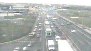 Tráfico en la A42