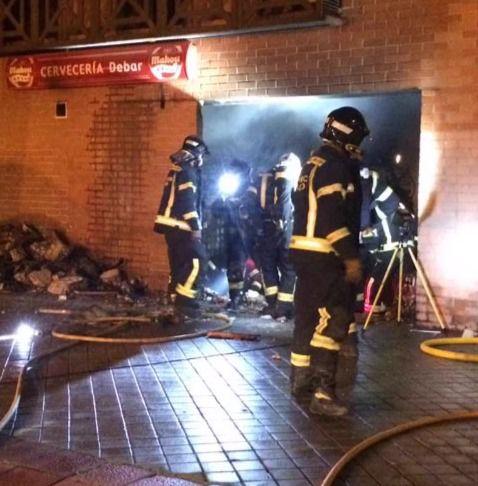 Dos heridos en una explosión en una cervecería de San Blas