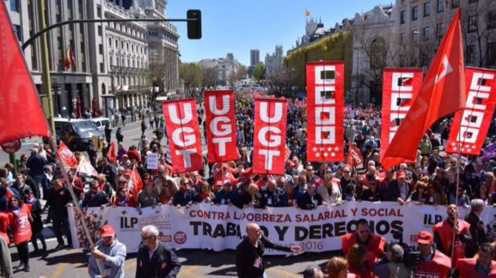 El miedo a la abstención marca el paso del Día del Trabajo