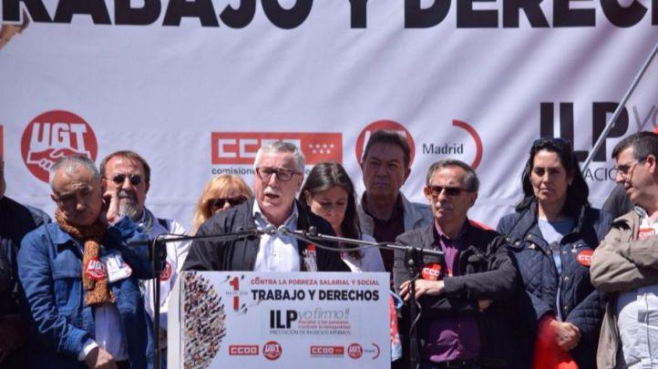Los portavoces sindicales han reclamado la incorporación de sus propuestas en los programas electorales del 26-J