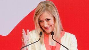 Cristina Cifuentes durante el discurso de la festividad del 2 de mayo, (Archivo)