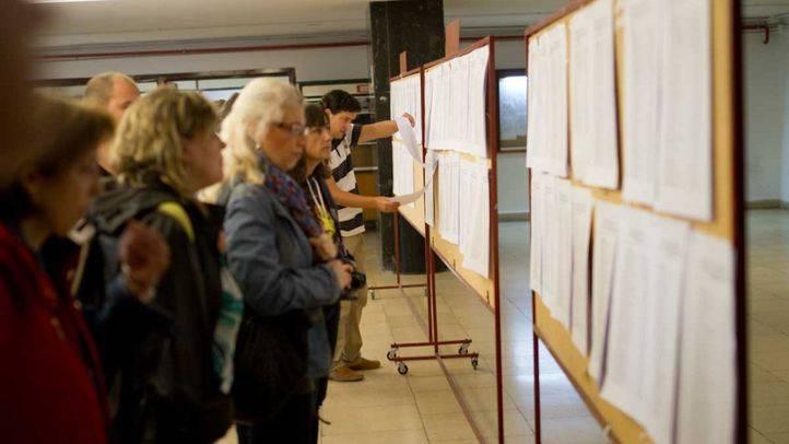 Oposiciones de Sanidad en la Universidad Complutense.