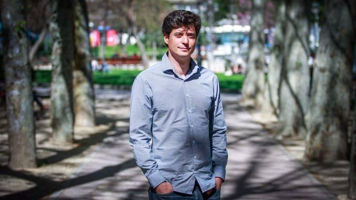Miguel Ongil, diputado y portavoz de Podemos en la comisi�n de investigaci�n de la corrupci�n en la Asamblea de Madrid.
