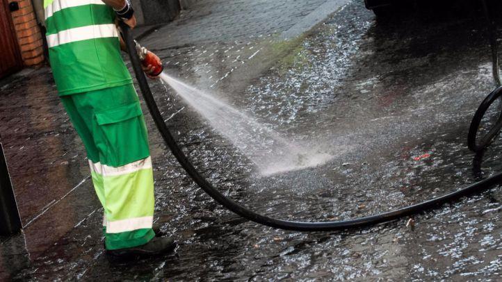 Retirado el último ERTE en la limpieza viaria de Madrid
