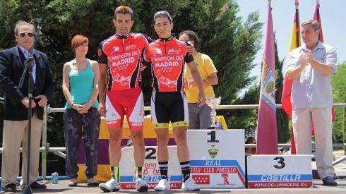 Entrega de premios de la Vuelta a Carabanchel de 2012
