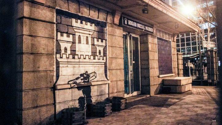 Sede okupada por El Hogar Social Madrid, antigua sede del No-Do (Archivo)