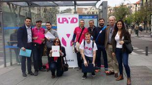 Miembros de UPyD, a la búsqueda de avales.