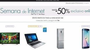El Corte Inglés celebra la Semana de Internet con más de 10.000 ofertas exclusivas