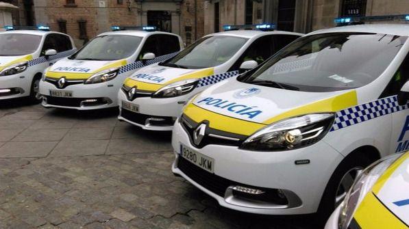 Coches de Policía Municipal de Madrid. (Archivo)
