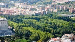 El Ayuntamiento quiere unir los Jardines de Sabatini y el Campo del Moro