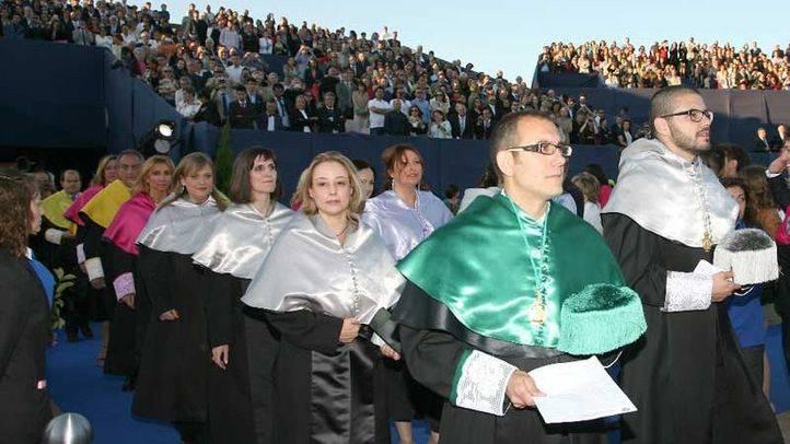 Acto de graduación en la Universidad Alfonso X el Sabio