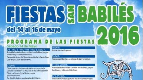 Boadilla del Monte celebra este fin de semana las fiestas de su patrón, San Babilés