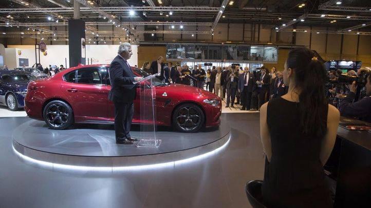 Alfa Romeo Giulia en Madrid Auto