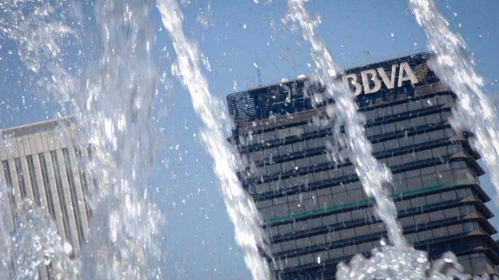 Torre del banco BBVA en el paseo de la Castellana.