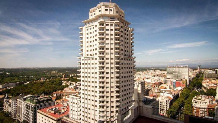 La climatización de la Torre de Madrid provocará cortes de tráfico en Plaza de España