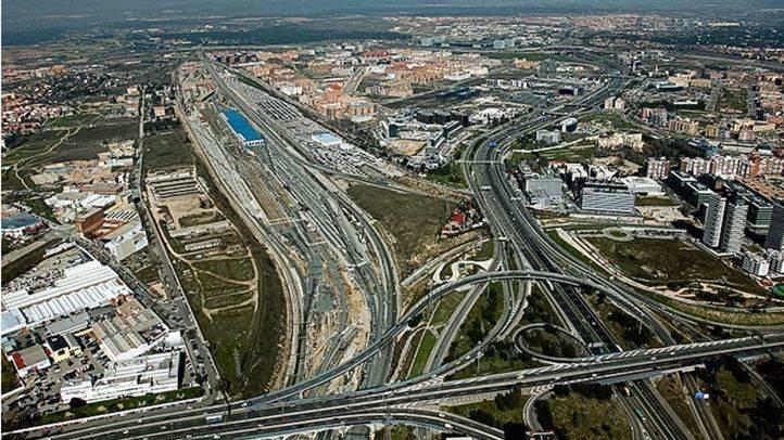 Ámbito del proyecto Distrito Castellana Norte.