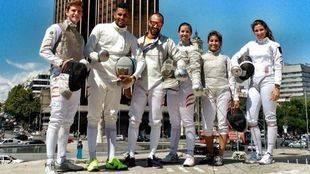 Madrid acoge la Copa del Mundo de Sable