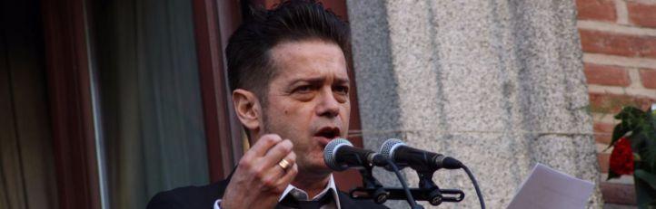 El cantante Santiago Auserón fué el encargado de dar el pregón este año.