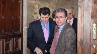 Francisco Granados y Bartolome Gonzalez en Alcala. (Archivo)
