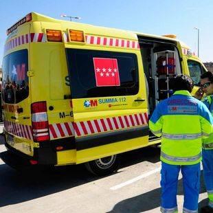 Ambulancia del Summa 112 (archivo)