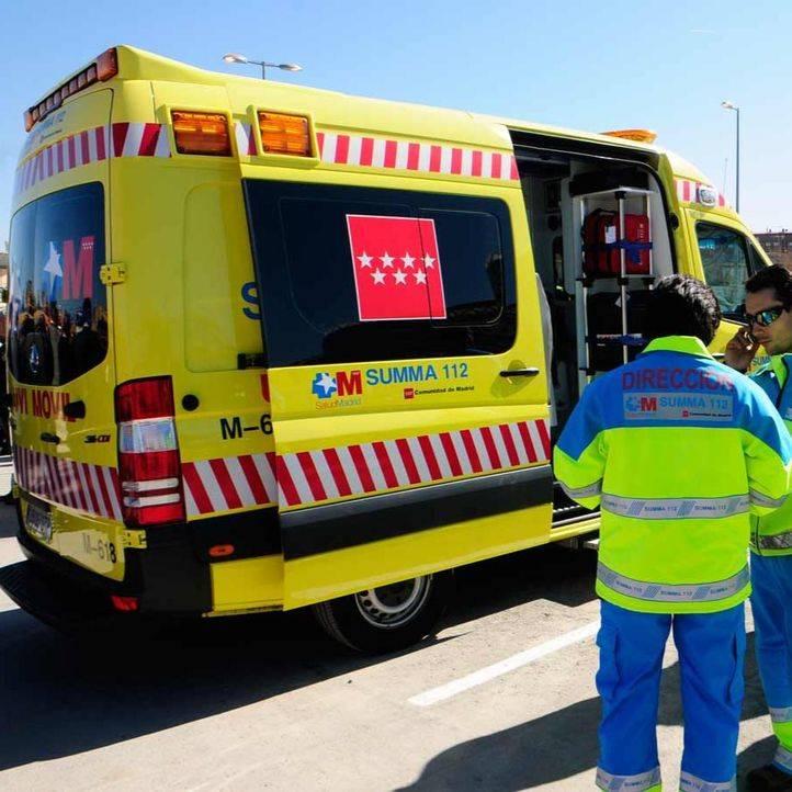 Muere un motorista al colisionar con un coche en una rotonda en Mejorada del Campo