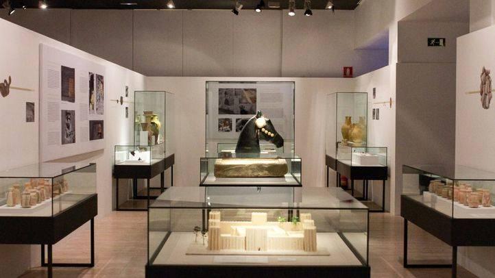 Exposición 'En los confines de Oriente Próximo. El hallazgo moderno del país de Magán' en el Museo Arqueológico Nacional.