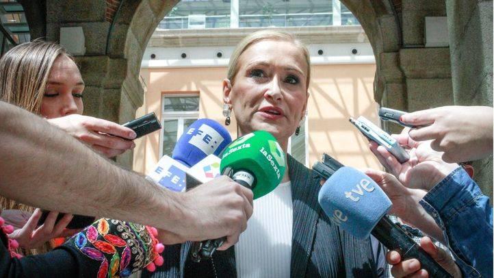Cifuentes anuncia ceses fulminantes en caso de haber imputaciones por Punica