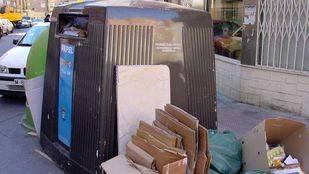 Contenedores antihurtos para evitar el robo del 40% del cartón