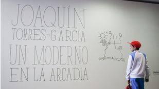 La Fundacion Telefónica inaugura este jueves una exposición sobre Joaquín Torres-García