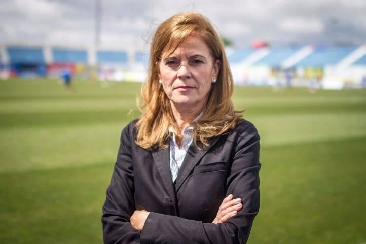 Maria Victoria Pavón, presidenta del Leganés.