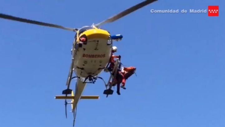 Rescatan a un octogenario que llevaba más de un día desaparecido en un barranco del río Jarama