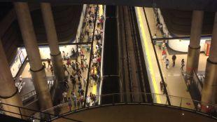 Gran respaldo entre los trabajadores a la segunda jornada de paros en Metro