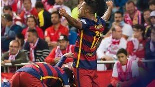 El Barça logra la Copa del Rey en la prórroga