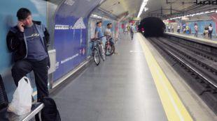 La última jornada de huelga de Metro se desarrolla sin incidentes