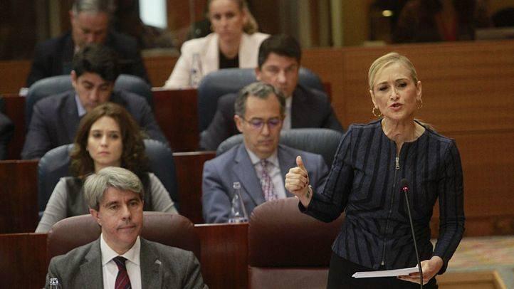 Cifuentes, en la Asamblea de Madrid